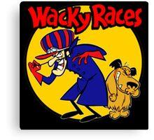Wacky Races Boy and Dog Canvas Print