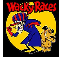 Wacky Races Boy and Dog Photographic Print