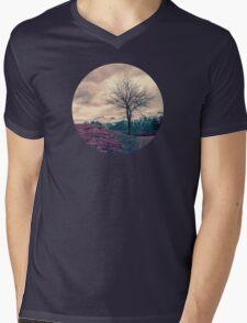 Japanese Mountains Mens V-Neck T-Shirt