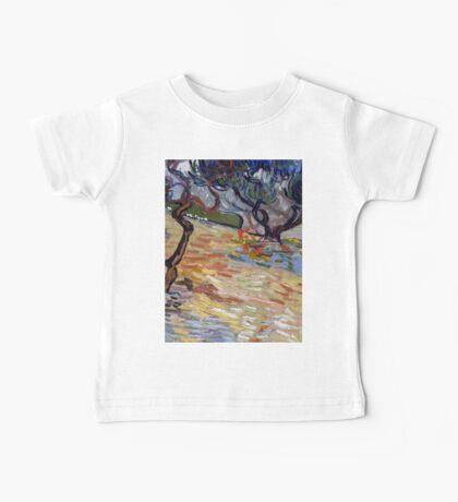 1889-Vincent van Gogh-Olive Trees-51x65,2 Baby Tee