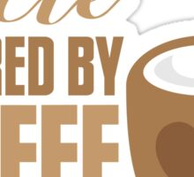 UNCLE powered by coffee Sticker