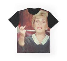 Judge Judy is Awesome Graphic T-Shirt