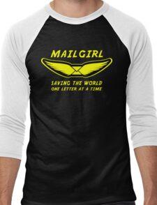 Mailgirl Men's Baseball ¾ T-Shirt