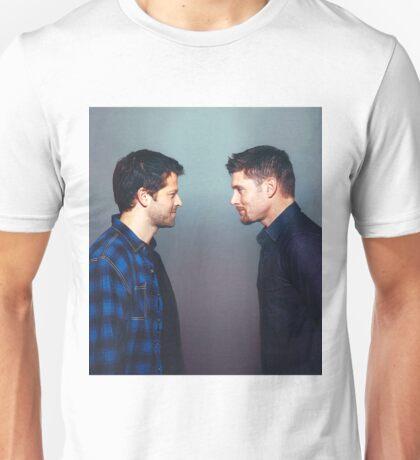 Jensen ackles misha collins  Unisex T-Shirt