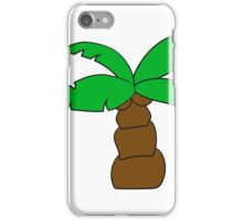comic cartoon funny sweet small cute palm iPhone Case/Skin