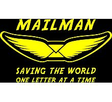 Mailman Photographic Print