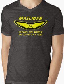 Mailman Mens V-Neck T-Shirt