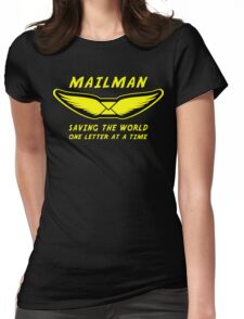 Mailman Womens Fitted T-Shirt