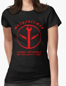 Mechanicman Womens Fitted T-Shirt