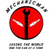 Mechanicman Photographic Print