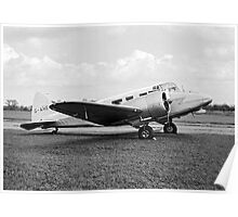 Airspeed AS65 Consul 3 G-AHEG Poster