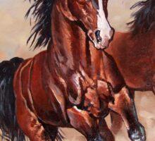Runaway horses... Sticker