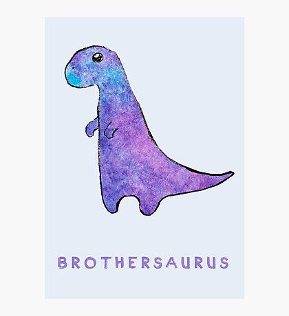 Brothersaurus Photographic Print