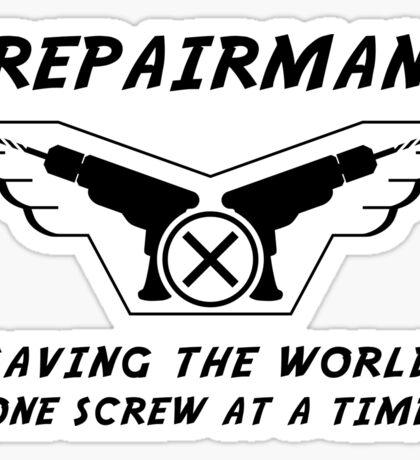 Repairman Sticker