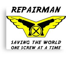Repairman Canvas Print