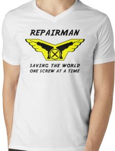 Repairman Mens V-Neck T-Shirt