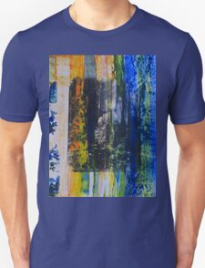 Spouse in the Forest - Original Wall Modern Abstract Art Painting Unisex T-Shirt