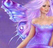 Lavender Moon Butterfly Fairy Sticker
