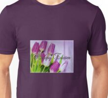 Happy Easter Tulips Unisex T-Shirt