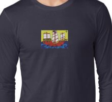 Pirate Ship  Long Sleeve T-Shirt