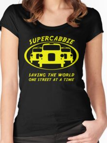 Supercabbie Women's Fitted Scoop T-Shirt