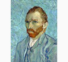 1889-Vincent van Gogh-Self-portrait-54x65 Unisex T-Shirt