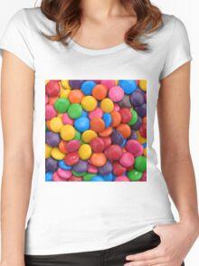 Smarties Women's Fitted Scoop T-Shirt