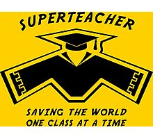 Superteacher Photographic Print