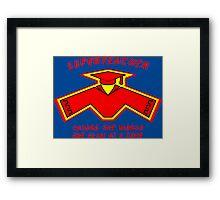 Superteacher Framed Print