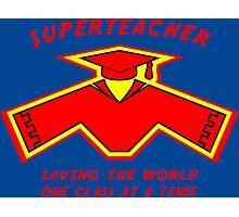 Superteacher Photographic Print