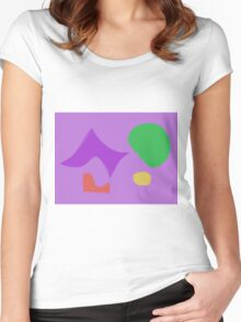 Abstract Fairies Women's Fitted Scoop T-Shirt