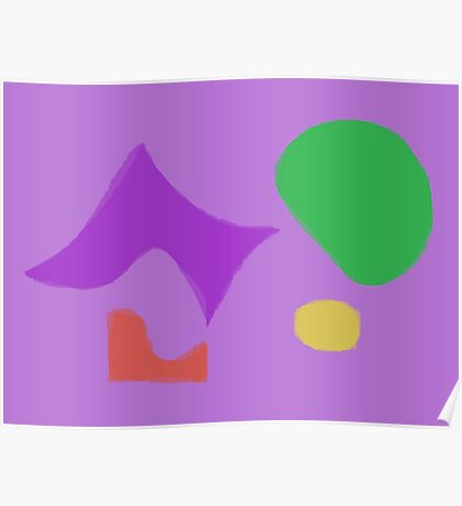 Abstract Fairies Poster