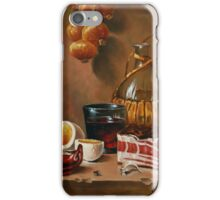still life with bacon iPhone Case/Skin