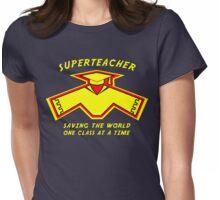 Superteacher Womens Fitted T-Shirt