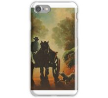 Three friends in a fog iPhone Case/Skin