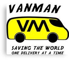 Vanman Canvas Print