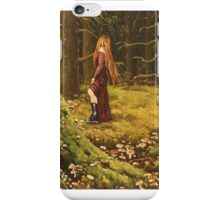 She plays her game iPhone Case/Skin