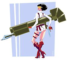 Lady from Devil May Cry Photographic Print