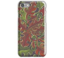 Oak leaves - Tataro pattern iPhone Case/Skin