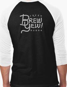 Fresh Brew Yew Rubra Coffee | 2016 Men's Baseball ¾ T-Shirt
