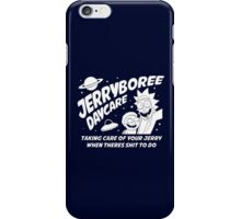 Rick and Morty Jerryboree Daycare iPhone Case/Skin
