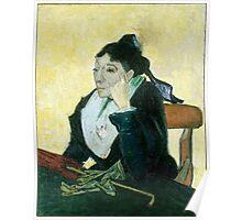 1889-Vincent van Gogh-The Arlesienne-73x92 Poster
