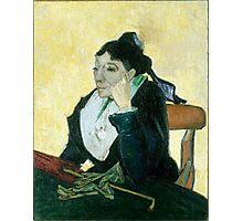 1889-Vincent van Gogh-The Arlesienne-73x92 Photographic Print