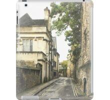 Old street in Oxford, England iPad Case/Skin