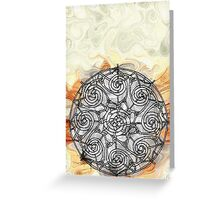 Wheel of Time Greeting Card