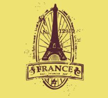 France Baby Tee