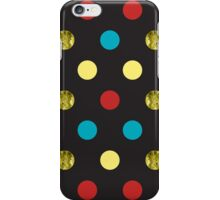Golden Dots iPhone Case/Skin