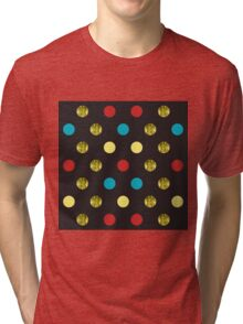 Golden Dots Tri-blend T-Shirt