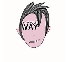 Just find your way. Photographic Print