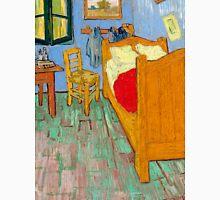 1889-Vincent van Gogh-The bedroom-73,6x92,3 Unisex T-Shirt